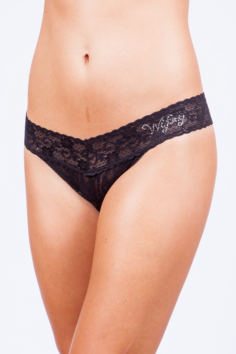 Crystal Wifey Lowrise Thong